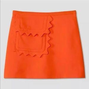 Victoria Beckham for target Orange Twill Skirt